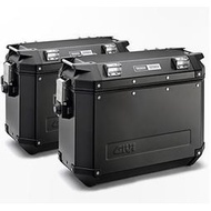 [極速傳說] GIVI OBK37B 側鋁箱/置物箱/行李箱 (側箱架可另外選購)