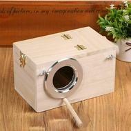 กล่องเพาะพันธุ์นกทำจากไม้,กล่องใส่อุปกรณ์สำหรับนกแก้วนกค๊อกเทล