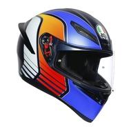 [安信騎士] 義大利 AGV K-1 K1 Power 消光藍橘白 粉紅 全罩 安全帽 亞洲版