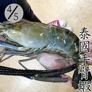 (買5送1)◎泰國手臂蝦4/5◎淨重400g±5%g/隻