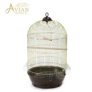 AVIAN WORLD /330鸚鵡鳥籠子小號豪華歐式籠多功能全套/ 鸚鵡用品/大鸚帝國