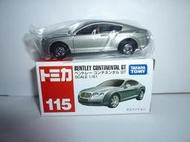 TOMY TOMICA 115-4 停產 BENTLEY CONTINENTAL GT 賓利