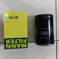 福斯 T4 2.0  PASSAT GOLF VW AUDI  W719/5 MANN 機油芯