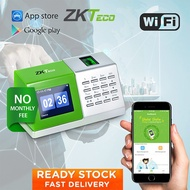 ZKTeco D2 Fingerprint Time Attendance Machine Time Clock Thumbrprint Attendance Desktop Standalone Biometric Attendance