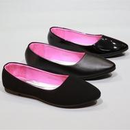 รองเท้า 426-F1F1AF1B   รองเท้าคัชชูนักศึกษา   รองเท้าคัชชูส้นแบน  FAIRY