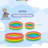 Best Seller..!! Intex Swimming Pool Pelangi Jumbo / Intex 57412 / Intex 57422 Intex 5946
