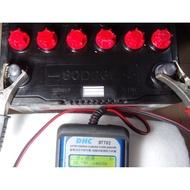 極地環保電池 品牌:YUASA湯淺 80D26L加水式 原廠規格68AH 490CCA, 小貨車用 實測CCA為646,