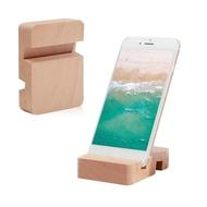 Dudukan Ponsel Iphone Samsung, Dudukan HP Universal Sederhana, Braket Ponsel Iphone Samsung Slot Ganda Tablet Kayu