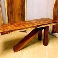 胡桃木造型桌 玄關桌 書桌 整塊無拼接 原木桌 原木餐桌 原木書桌A.H.Furniture   寬度150 深度50 高度76