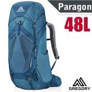 【美國 GREGORY】新款 Paragon 48 專業健行登山背包(可調式懸架系統+)_126843 葛雷夫藍