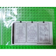『Arthur樂高』LEGO 76125 格納庫 貼紙