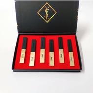 YSL 口紅 聖羅蘭 YSL小金條口紅禮盒六件套    附禮品袋