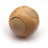 成人木制益智玩具 智力拆裝古典玩具 孔明鎖魯班鎖 圓球