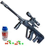 ปืนของเล่น ปืนอัดลม ระบบสปริงชักยิง สีดำ แถมกระสุน 100 ปืนเด็กเล่น ปืนลูกซอง ปืนสไนเปอร์ ปืนอัดลมเด็ก ปืนเด็กเล่น ปืนบีบีกัน ปืนอัดลมยาว กระสุนปืนอัดลม ปืนไรเฟิล ปืนเนิฟ ปืนเนิร์ฟ ลูกบีบีกัน สโคปปืน สโคป กล้องติดปืน AWP Sniper