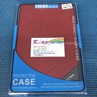 【大小通吃】City Boss Asus ZenPad 3S 10 磨砂系列 紅色 掀蓋皮套 防摔 軟殼 Z500KL
