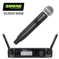 【SHURE】GLXD24/SM58手握式無線麥克風組(原廠公司貨)
