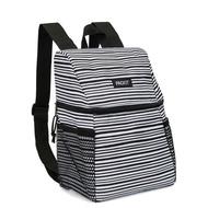 (1800折150)  美國 PACKiT 冰酷 野餐冷藏後背包 5.2L (經典黑白) 保冷袋 保冰袋 母乳袋 行動式摺疊冰箱