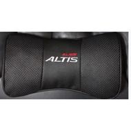 豐田ALTIS 專屬 真皮頭枕 透氣頭枕 護頸枕 (2個/對)