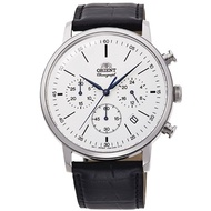 Orient Watch Multi - Eyes Series Quartz Belt Men's Watch - White
