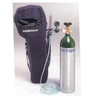 A27-OX01氧氣鋼瓶-攜帶式單錶容量400公升