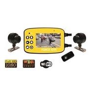 {泳達車業}大黃蜂Ⅱ雙鏡頭行車記錄器  Full HD 1080P
