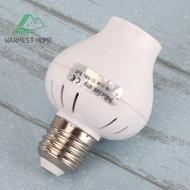[warmesthome]微波雷達人體感應燈頭 E27感應燈座 LED感應開關燈座