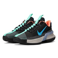 NIKE 耐吉2104男鞋籃球鞋  運動鞋 包覆 緩震 AMBASSADOR XIII 黑綠 CQ9329004