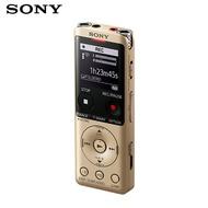 【曜德視聽】SONY ICD-UX570F (4GB) 金 立體聲IC錄音筆 收音機功能 ★免運★