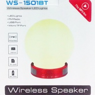 夜燈藍芽喇叭wireless speaker Ws-1501bt