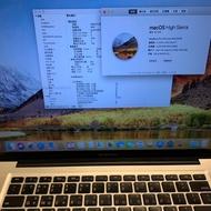 末代可以改裝2012 Mid Macbook pro 15吋8G/256G SSD  i7 2.3