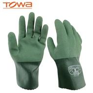 勞工手套 TOWA 565防護手套油防滑保護耐磨towa防油勞保 勞動防滑耐磨手套 時尚潮流