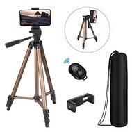Tiitarn Tiitarn Phone Camera Tripod, 50-Inch iPhone Tripod Remote Lightweight Aluminum + Bag Perfect