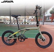 Java Zelo Foldable Bike Folding Bicycle Foldie