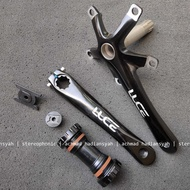 New. Crank Hollow Tech 2 Luce Bcd130 5 Bolt 5 Bolt Hole Can Dual Chainring Juga Single Not Litepro