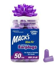 [2美國直購] Mack's 紫色超軟耳塞降29分貝 Ultra Soft Foam Earplugs, 50 Pair -