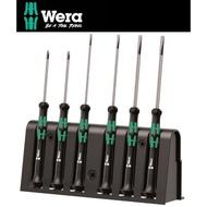 【Wera】德國Wera精密電子起子6支組-附原廠收納架(2035/6A)