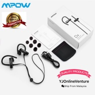 Original Mpow D4 Bluetooth Headphones IPX6 Waterproof Sports Earphone with Mic