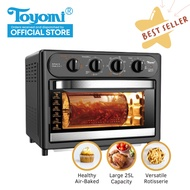 TOYOMI 25L Air Fryer Oven with Rotisserie AFO 2525RC
