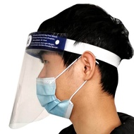 Protective Anti-fog Anti-droplets Full Protection Transparent Hat Face Shield