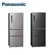 Panasonic 國際牌 ECONAVI 500L三門一級能變頻電冰箱NR-C501XV-含基本安裝V(絲紋黑)