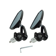 改裝機車  後視鏡 手把鏡 端子鏡 牛角鏡 五角 菱形 平衡   檔車 BWS VESPA GOGORO