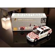 現貨 老周微影 Tiny 台灣限定 BMW 5 Series F11 國道紅斑馬 展場限定 買就送台灣會員卡、目錄、紙袋
