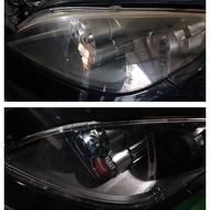 大燈快潔 Mitsubishi 三菱 Savrin Inspire Lancer 原廠大燈泛黃霧化拋光翻新處理