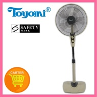 TOYOMI Stand Fan with Timer FS 1638