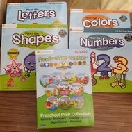 (9.5成新) Preschool Prep Series DVDs 10DVD + 4本翻翻書