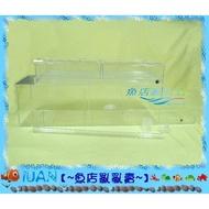 【~魚店亂亂賣~】乾濕分離過濾槽(改良式)仿底濾式3尺乾溼分離上部滴流過濾槽三尺傳統缸專用有玻璃邊條缸使用