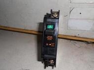 日本 富士 FUJI 斷路器 2P2E 20A 1P型 省空間 BH型安裝 無熔絲開關 110-220V適用 5KA