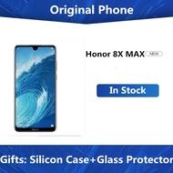 Honor 8X Max 7.12 นิ้วโทรศัพท์มือถือ 4900MAhแบตเตอรี่สมาร์ทโฟนAndroid 8.1 16MPกล้องGoogle Playหลายภาษา