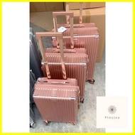กระเป๋าเดินทาง ร้านแนะนำHANK 003 กระเป๋าเดินทาง กระเป๋าเดินทางล้อลาก กระเป๋าเดินทาง 20 24 28 นิ้ว กระเป๋าเดินทางซิป วัสดPC luggage suitcase bag