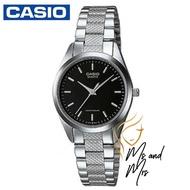 Casio Standard นาฬิกาข้อมือผู้หญิง สายสแตนเลส รุ่น LTP-1274D